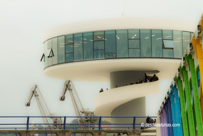 Summer 2011 at the Niemeyer, Avilés