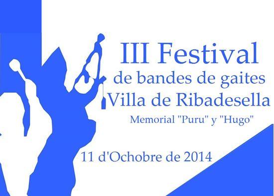 III Festival de bandes de gaites Villa de Ribadesella