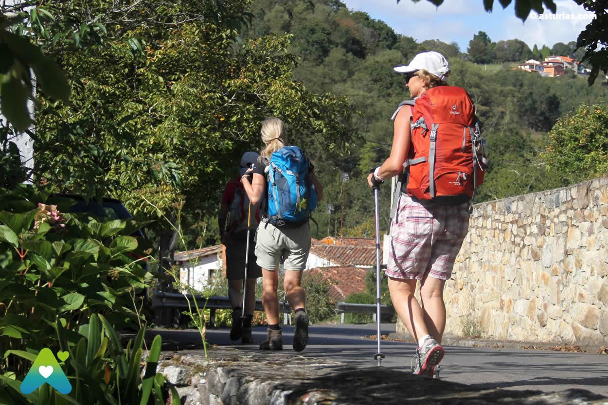 Le Camino de Santiago dans les Asturies