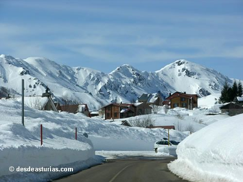 Skifahren in Asturien