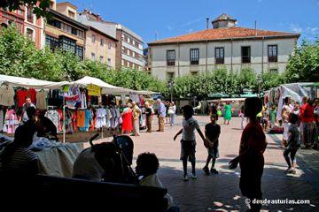 Weekly market Ribadesella