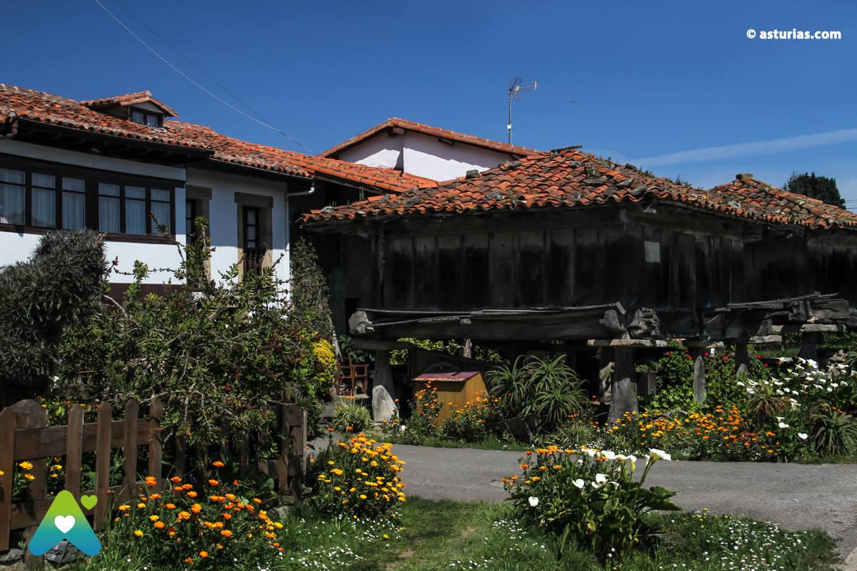 Asturian granaries