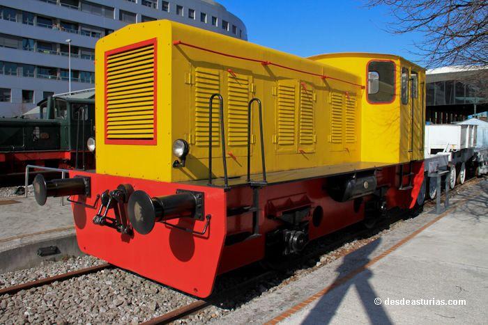 Eisenbahnmuseum von Asturien