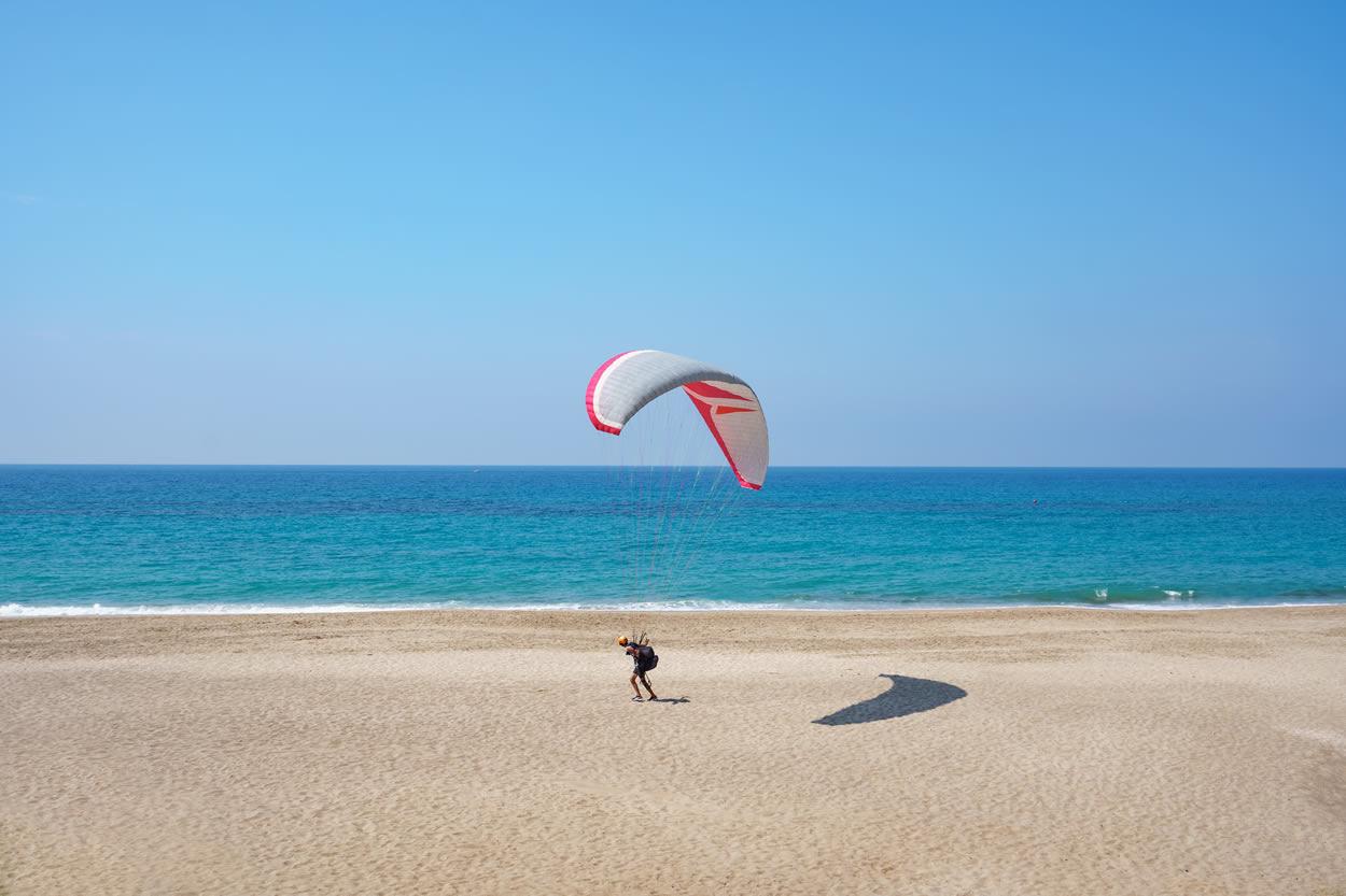 Paragliding in Asturias