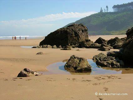 Arenal Strand von Morís