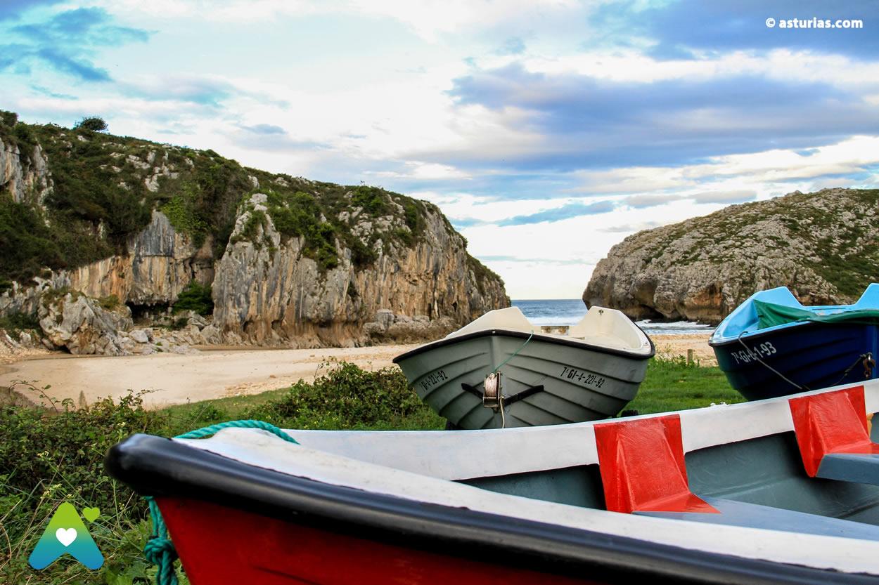 Beach of Cuevas del Mar Llanes