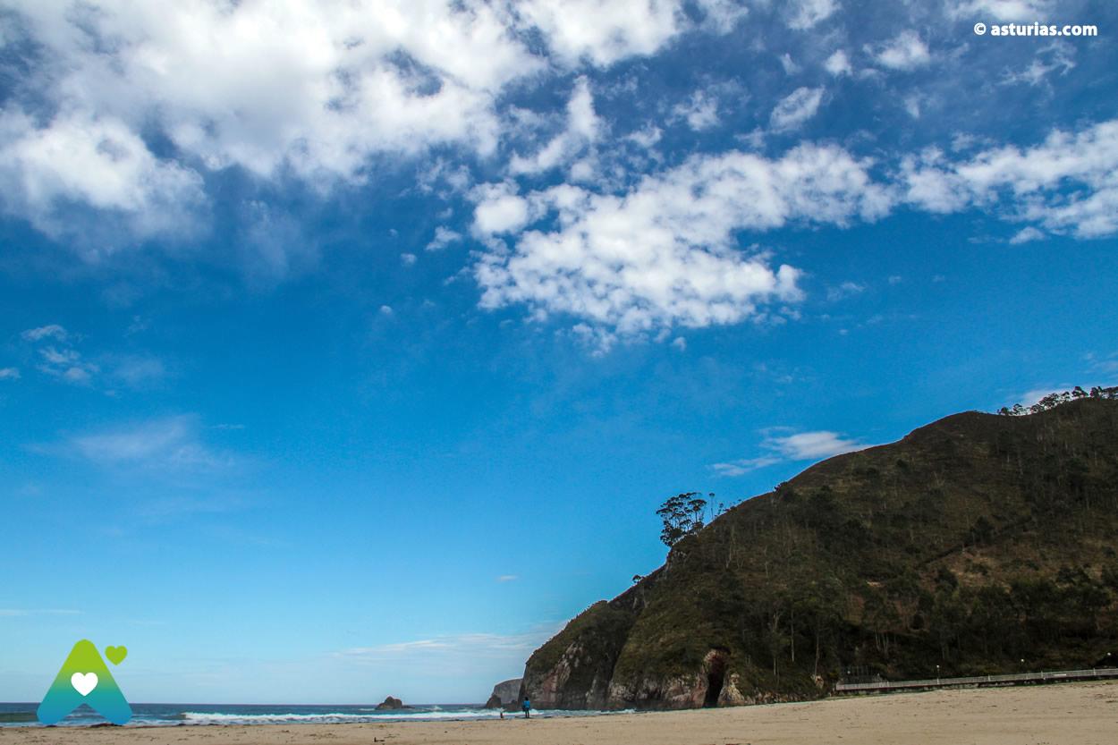 Strand von La Franca