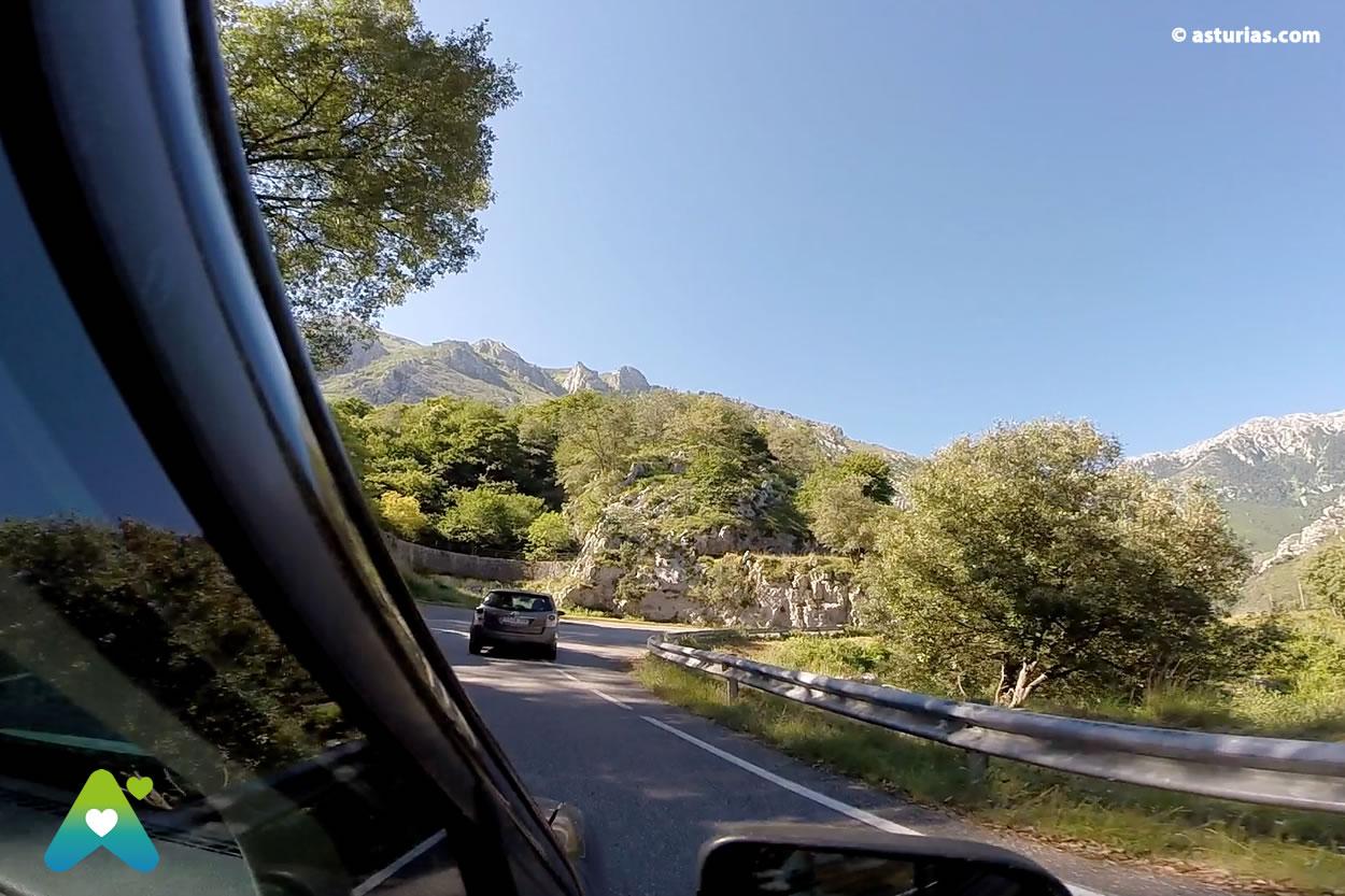 Fahrstrecken Asturien