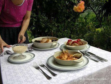 Restaurant und Llagar Arbesú