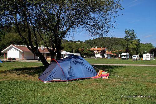 Camping Playa Los Sauces Ribadesella Campings Asturias Campings En Asturias Asturias Com