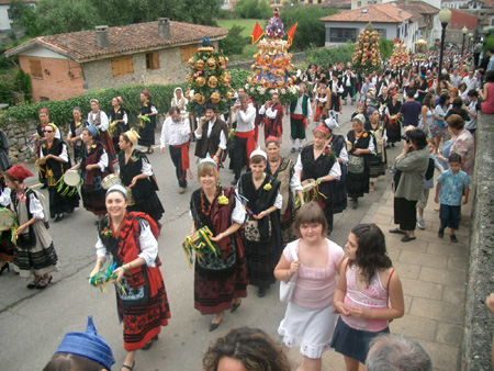 Feierlichkeiten San Antonio Cangas de Onís 2019