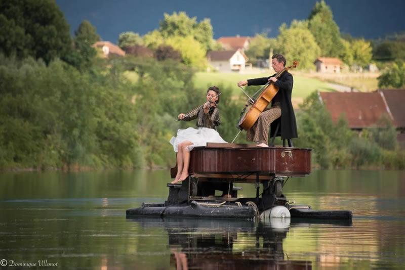 """Tour """"Le piano du lac"""" Asturien 2018"""