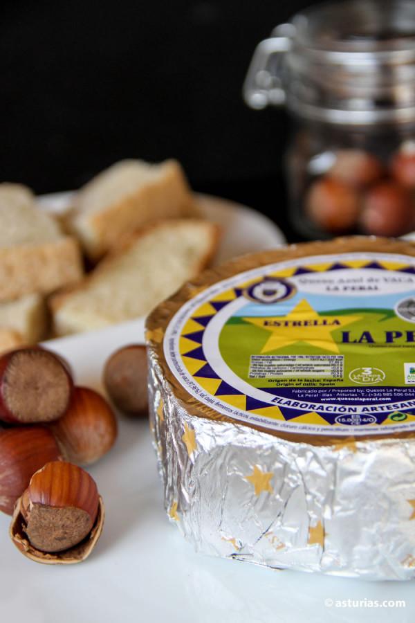 Venta de queso La Peral online. Quesos artesanos de Asturias.