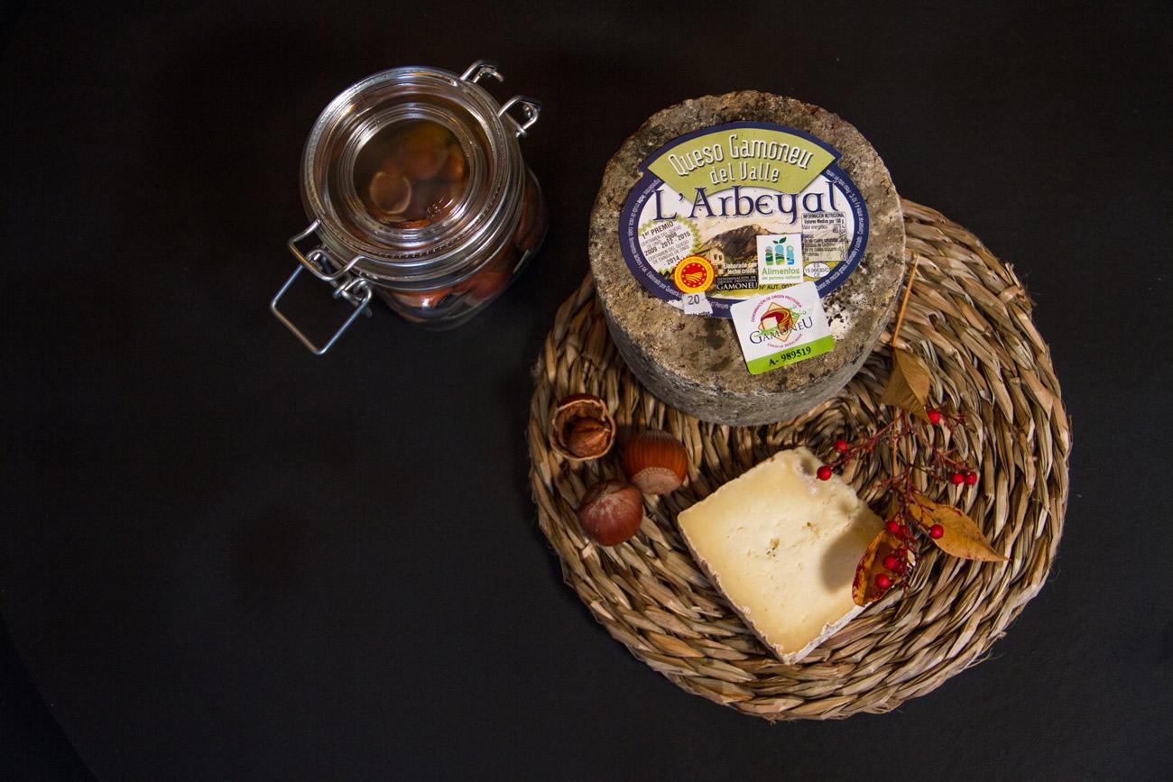 Gamonéu del Valle PDO cheese